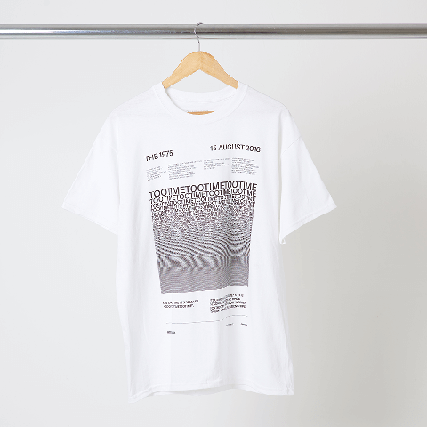 √Too Time von The 1975 - T-Shirt jetzt im The 1975 Shop